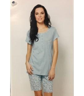 Pijama manga corta y pantalón corto