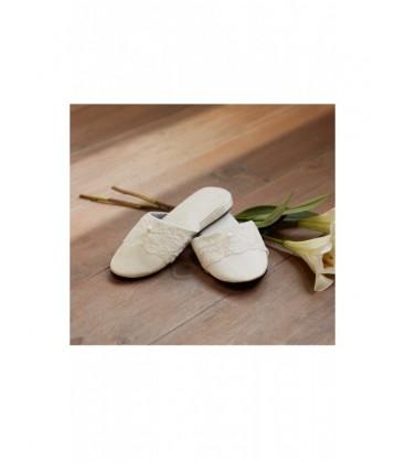 Zapatillas forradas de satén