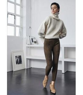 Pantalón corte skinny Ysabel Mora