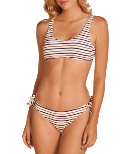Top bikini sin aros y con foam extraible